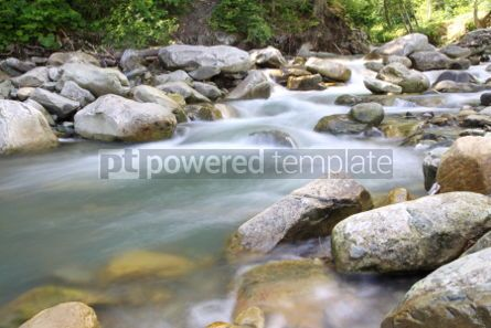 Nature: Beautiful cascade in Carpathian forest Ukraine. Long exposure #04234