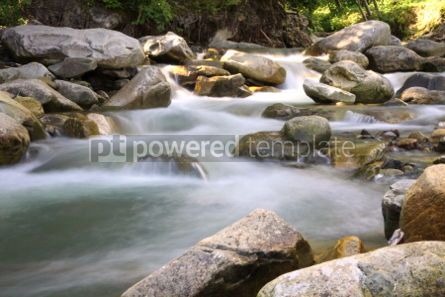 Nature: Cascade in Carpathian forest Ukraine. Long exposure #04235