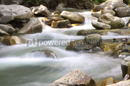 Nature: Beautiful cascade in Carpathian forest Ukraine. Long exposure #04236