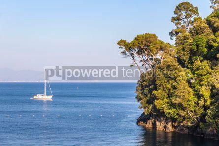 Nature: Beautiful view of the Bay of Paraggi in Santa Margherita Ligure #04250