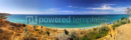Nature: Summer panoramic landscape of Crimean seacoast Ukraine #04254