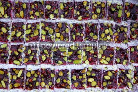 Food & Drink: Traditional sweet Turkish Delight - Lokum #04258