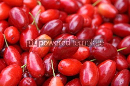 Food & Drink: Fresh Cornelian cherries background #04260