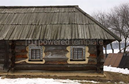 Architecture : Old traditional rural house in Ukraine #04280