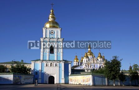 Architecture: St. Michael's Golden-Domed Cathedral #04282