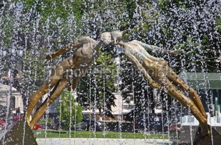Arts & Entertainment: Monument of Lovers (or Monument of Kiss) in Kharkiv Ukraine #04299