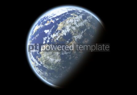Abstract: Beautiful abstract planet #04308