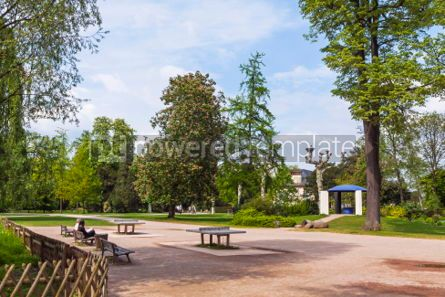 Nature: Parc de L'Orangerie a public park in Strasbourg city France #04328