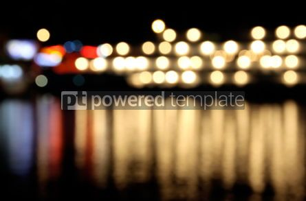 Abstract: Abstract bokeh background with water reflection #04347