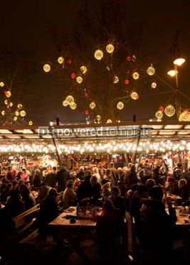 Holidays: New Year's market in Budapest Hungary #04351