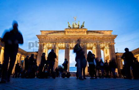 Architecture : Brandenburg Gate in Berlin Germany #04363