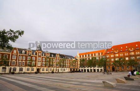 Architecture : Market Square (Axeltorv) in Fredericia Denmark #04373