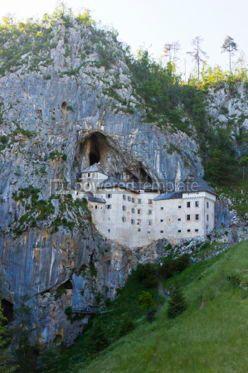 Architecture : Predjama Castle in Postojna Cave Slovenia #04396