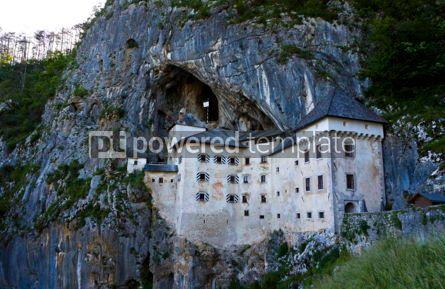 Architecture : Predjama Castle in Postojna Cave Slovenia #04399