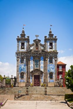 Architecture: Church of Saint Ildefonso in Porto Portugal #04400