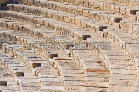 Architecture : Ancient theater in Kourion Cyprus #04403