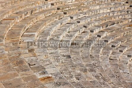 Architecture : Ancient theater in Kourion Cyprus #04404