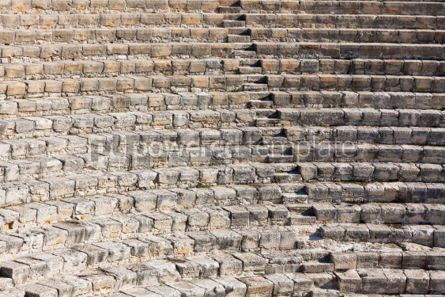 Architecture : Ancient theater in Kourion Cyprus #04405