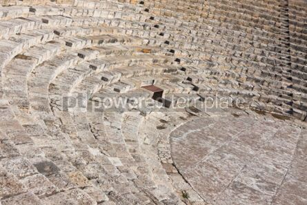 Architecture : Ancient theater in Kourion Cyprus #04406