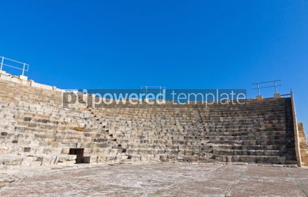Architecture : Ancient theater in Kourion Cyprus #04407