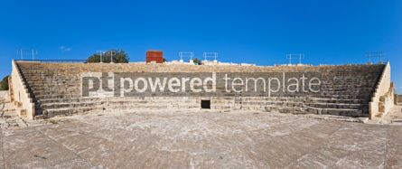 Architecture : Ancient Greco-Roman theater in Kourion Cyprus #04408