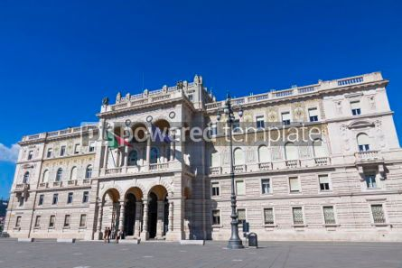Architecture : Government Building at the Unity of Italy square Trieste Italy #04411