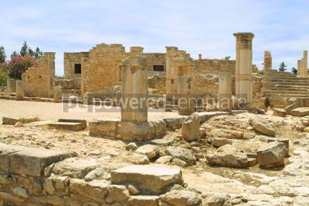 Architecture: Ruins of the Sanctuary of Apollo Hylates Kourion Cyprus #04413