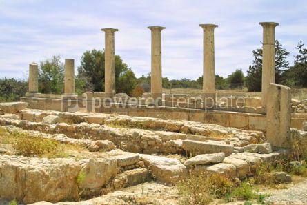 Architecture: Ruins of the Sanctuary of Apollo Hylates Kourion Cyprus #04414