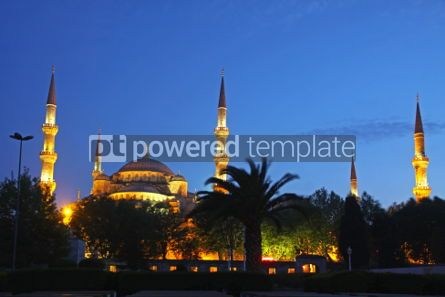 Architecture : Sultan Ahmed Mosque (Blue Mosque) in Istanbul #04416