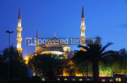 Architecture : Sultan Ahmed Mosque (Blue Mosque) in Istanbul #04417