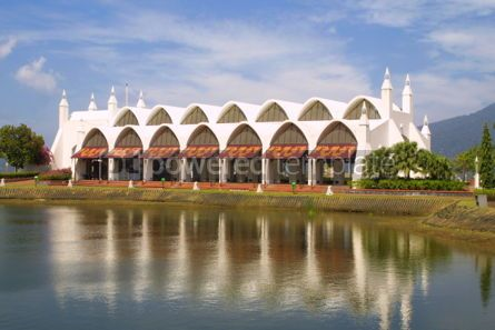Architecture : Building at Eagle Square in Kuah town Langkawi island Malaysia #04427