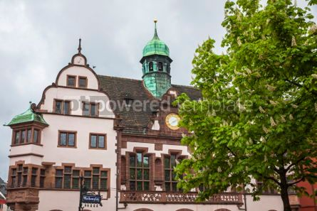 Architecture : Old Town Hall (Altes Rathaus) in Freiburg im Breisgau Germany #04428