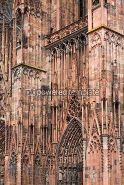 Architecture : Strasbourg Cathedral (Notre Dame) France #04437
