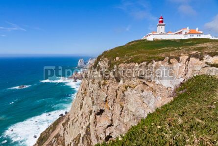 Nature: The most Western point of Europe Cabo da Roca Portugal #04457