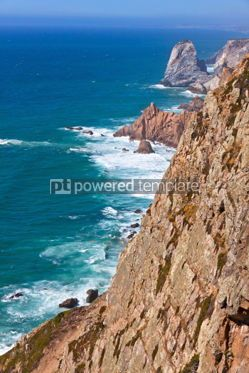 Nature: The most Western point of Europe Cabo da Roca Portugal #04460