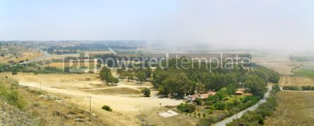 Nature: Aerial view of Kuroni village on Cyprus #04464