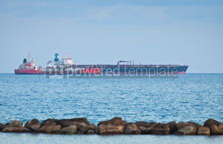 Industrial: Oil tunkers sail in Mediterranean sea #04480