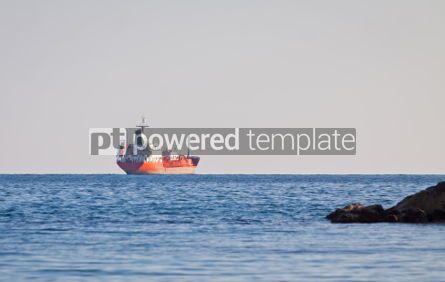 Industrial: Oil tunker sails in Mediterranean sea #04481