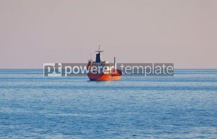 Industrial: Oil tunker sails in Mediterranean sea #04482