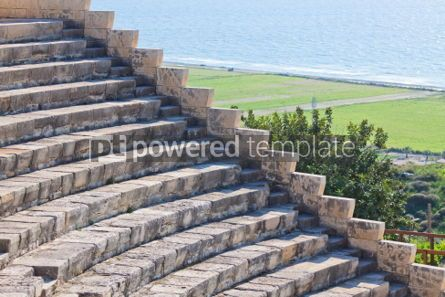 Architecture : Ancient Greco-Roman theatre in Kourion Cyprus #04487