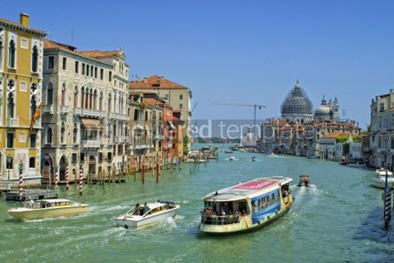 Transportation: Grand Channel in Venice Italy  #04499
