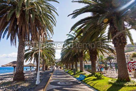 Nature: Beach in Santa Cruz Madeira island Portugal #04512