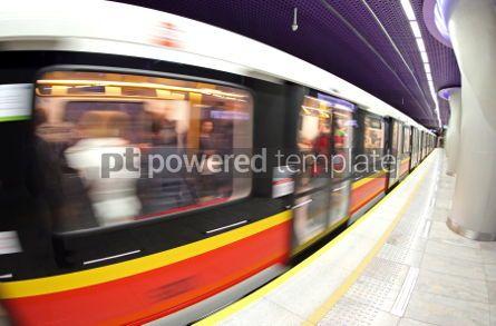 Transportation: Metro station in Warsaw Poland #04523