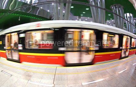 Transportation: Stadion Narodowy metro station in Warsaw Poland #04524
