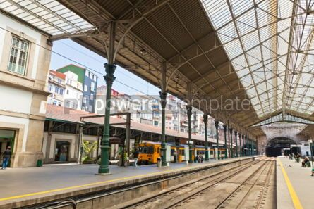 Transportation: Sao Bento Railway Station in Porto city Portugal #04531
