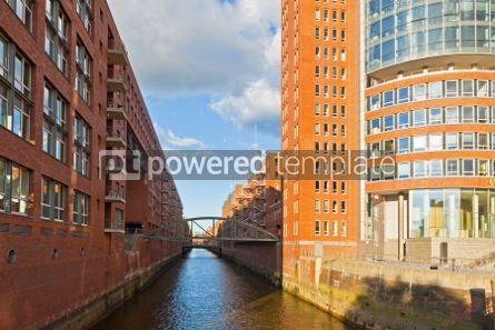 Architecture : Speicherstadt district in Hamburg Germany #04543