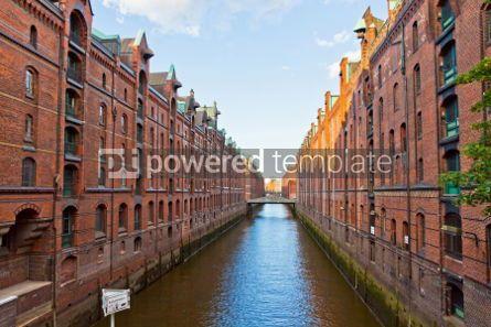 Architecture : Speicherstadt district in Hamburg Germany #04544