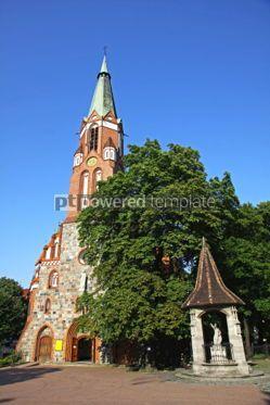 Architecture: St.George's Roman Catholic Church in Sopot Poland #04552