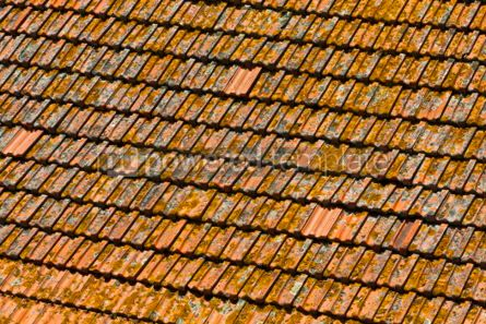 Architecture : Orange tile rooftops in Porto old town Portugal #04560