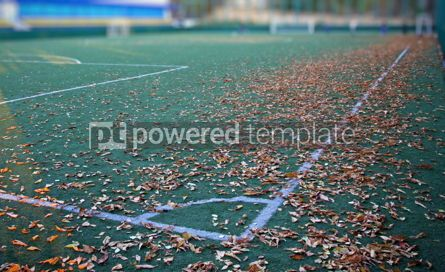 Sports : Small soccer field #04579